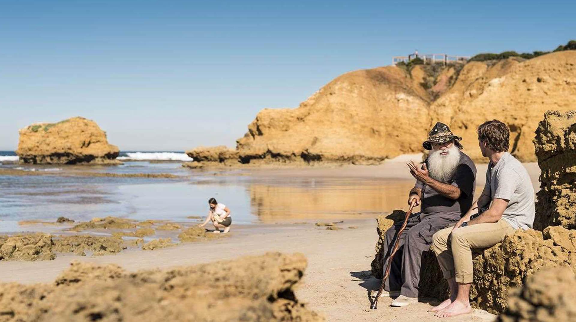 Aboriginal Guide Torquay Beach