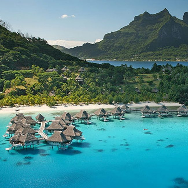 Tahiti Bora Bora Aerial Vacation