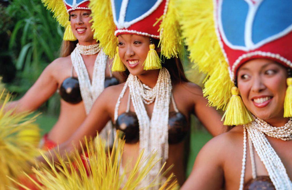 Tahiti Traditional Dance
