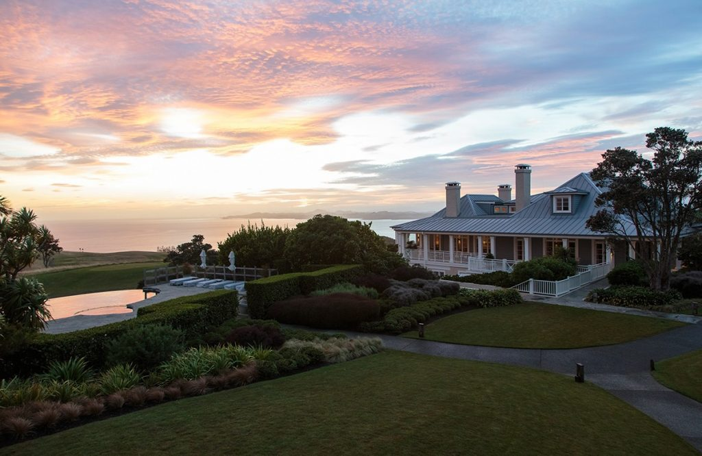 The Lodge at Kauri Cliffs Evening