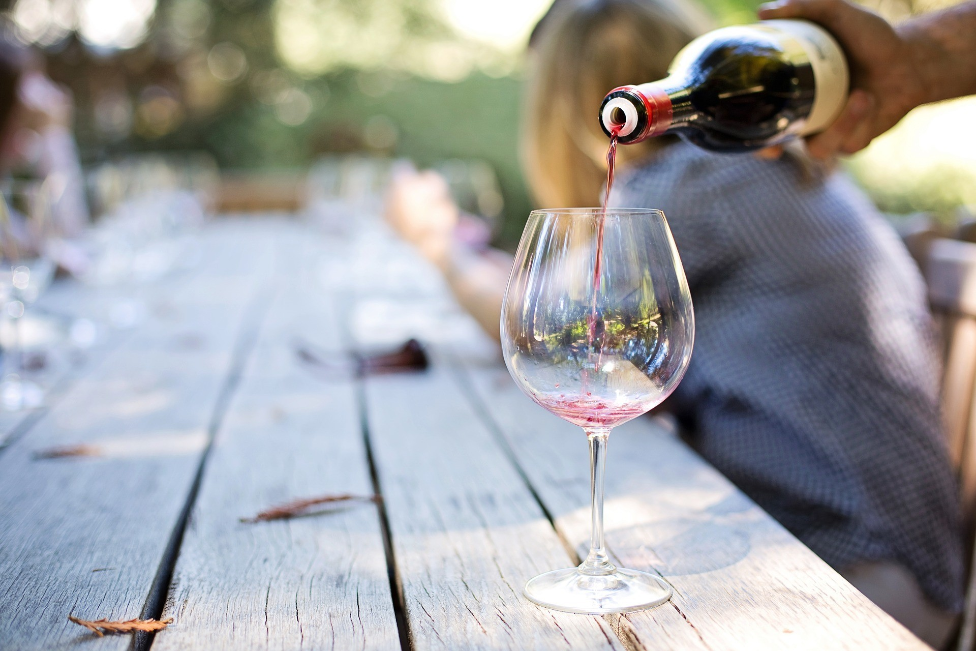 Pouring Wine Aussie Wine Month