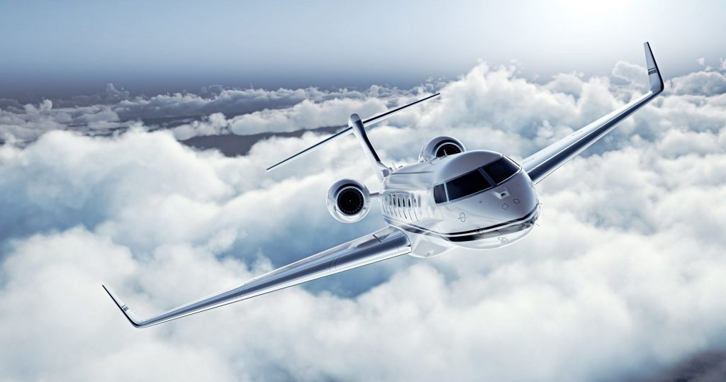 Private Jet Hire Exterior