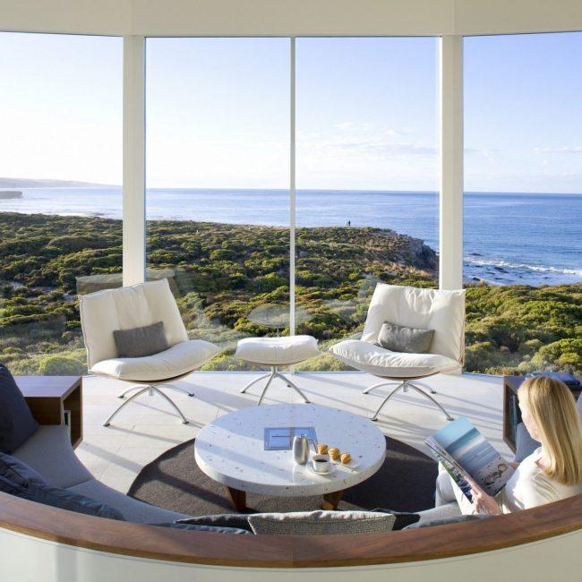 Southern Ocean Lodge Lounge Area