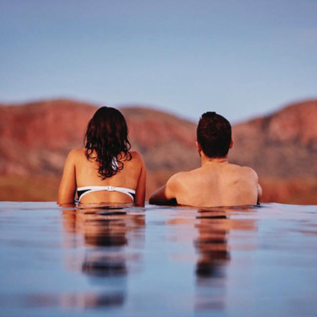 Couple in Pool WA