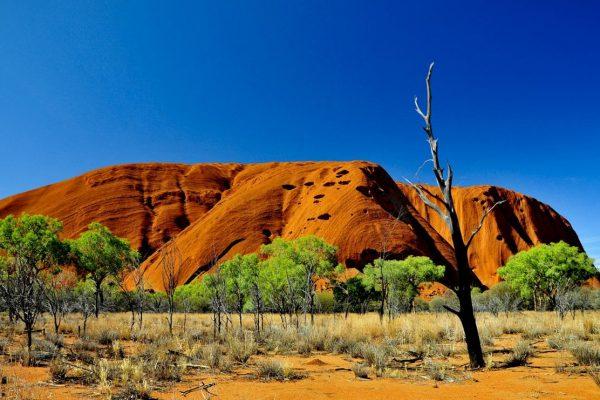 Australia Outback Uluru