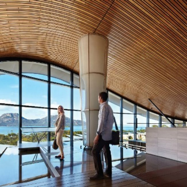 Saffire Lodge Freycinet Foyer