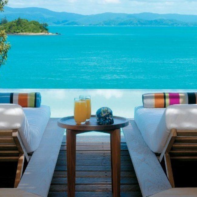 Sun Chairs Landscape Qualia