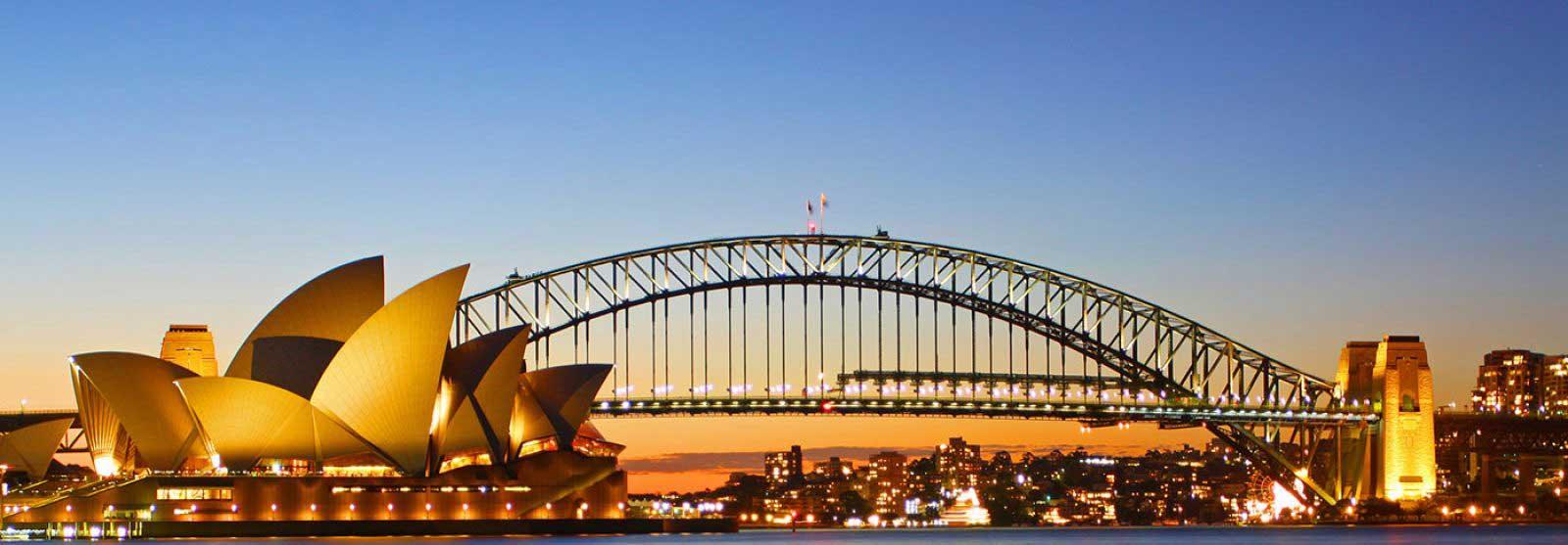 Sydney Opera House Landscape