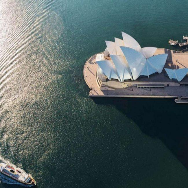The Sydney Opera House Aerial