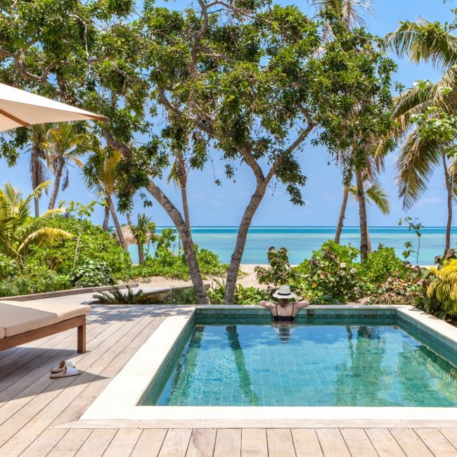Beachfront Pool Villa Ocean Views