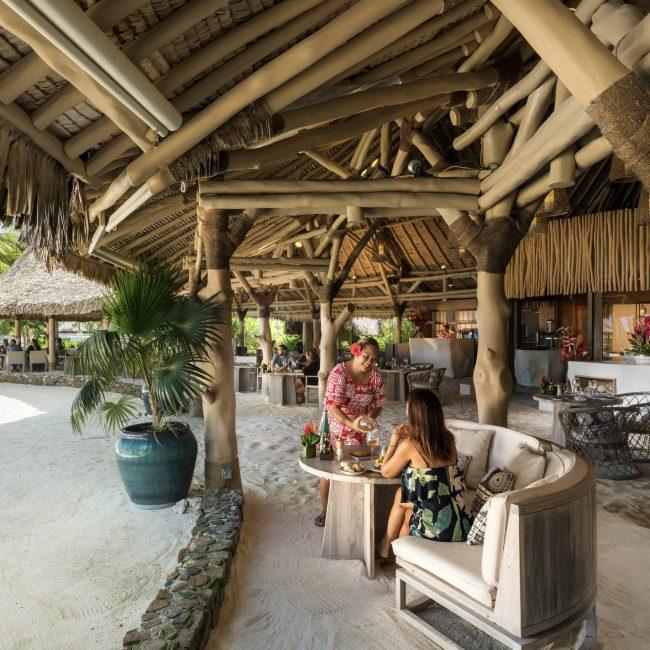 Conrad Bora Bora Beach Restaurant