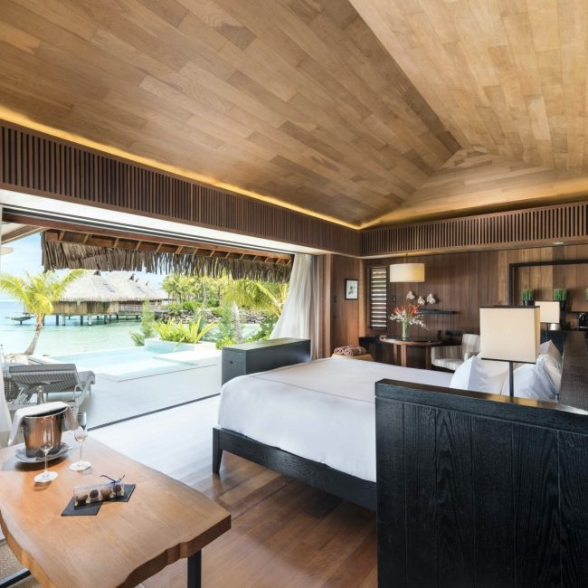 Conrad Bora Bora Overwater Bungalow Room