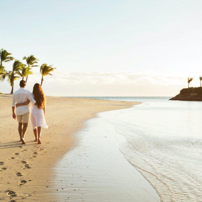 Couple on Beach Fiji