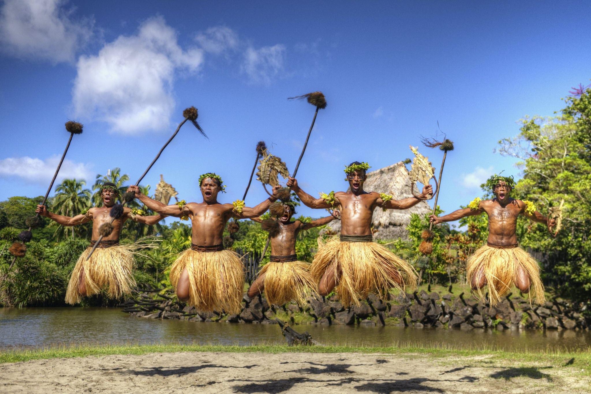 Fijian Warrior Dance