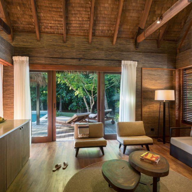 Hideaway Pool Suite Living