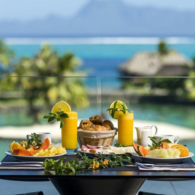 Intercontinental Tahiti Breakfast
