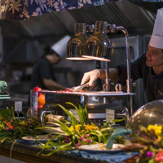Intercontinental Tahiti Buffet
