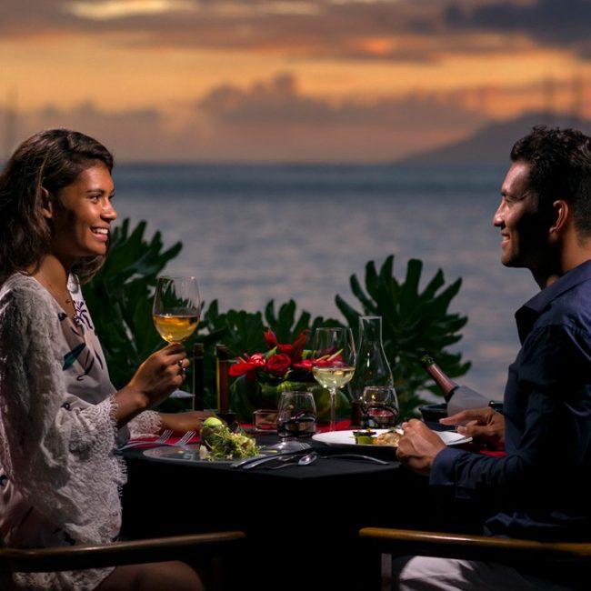 Intercontinental Tahiti Lotus Romantic Diner