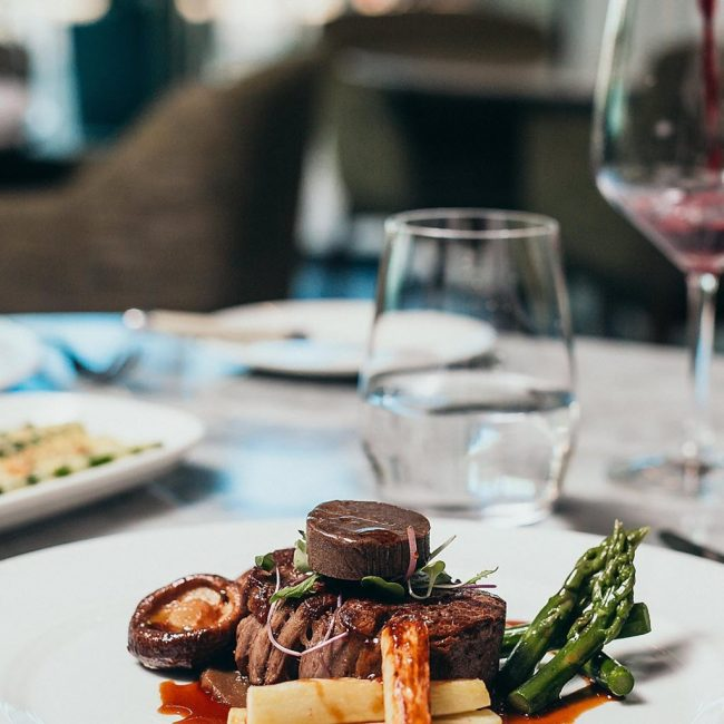 InterContinental Wellington Food
