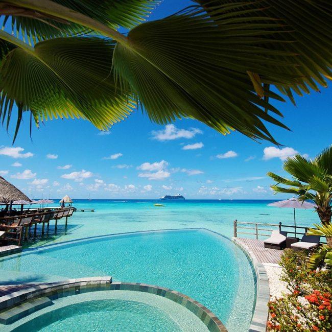 Kia Ora Resort Piscine Bar Lagon