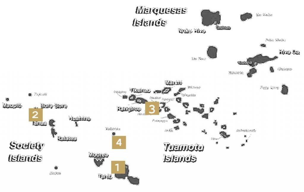 Polynesian Map
