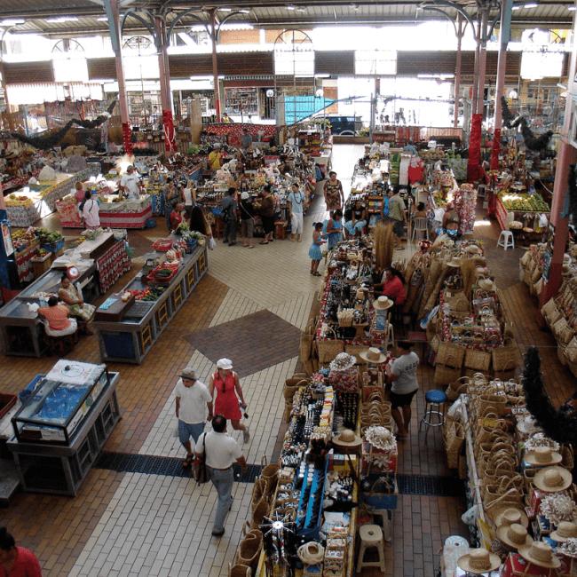 Tahiti Papeete Market