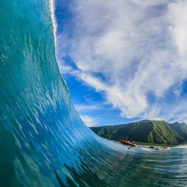 Tahiti Teahupoo Wave