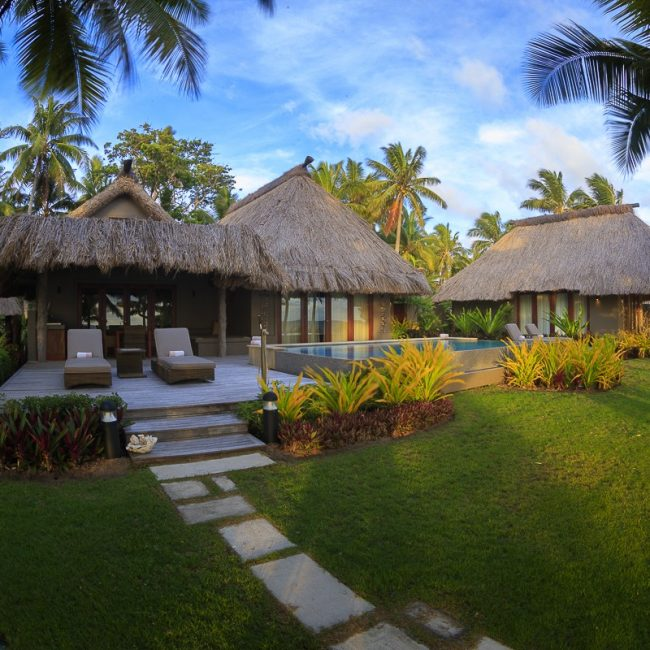 Two Bedroom Beachfront Villa Exterior