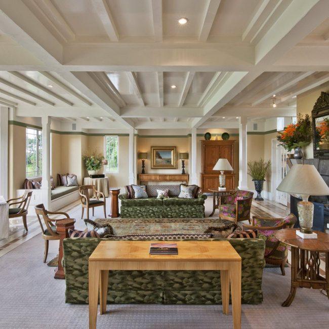 Wharekauhau Lodge Main Lounge