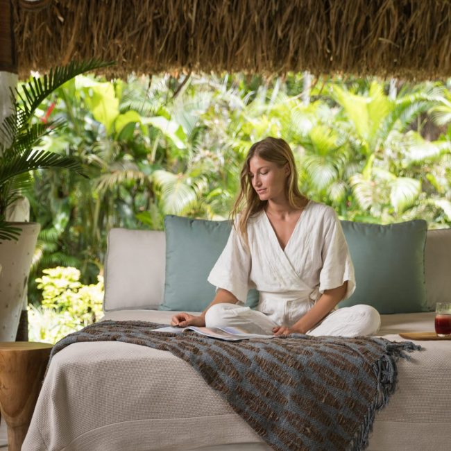 3. Outdoor Relaxation Bure