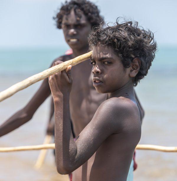 Traditional Spear fishing_Nyinyikay Yolngu Homeland
