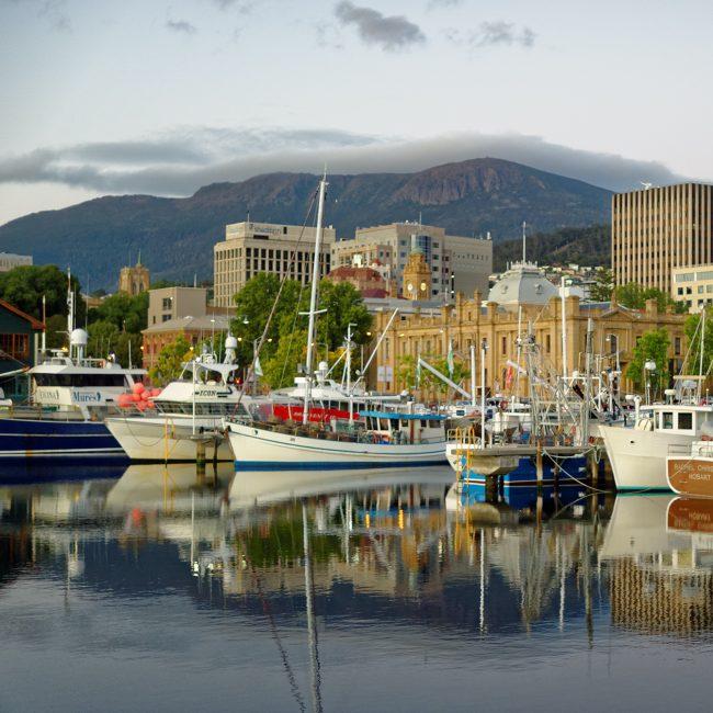 Hobart_Franklin_Wharf