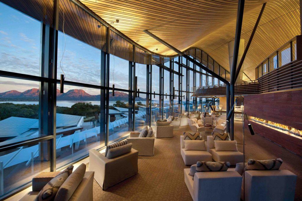 Saffire Freycinet Lodge Lounge