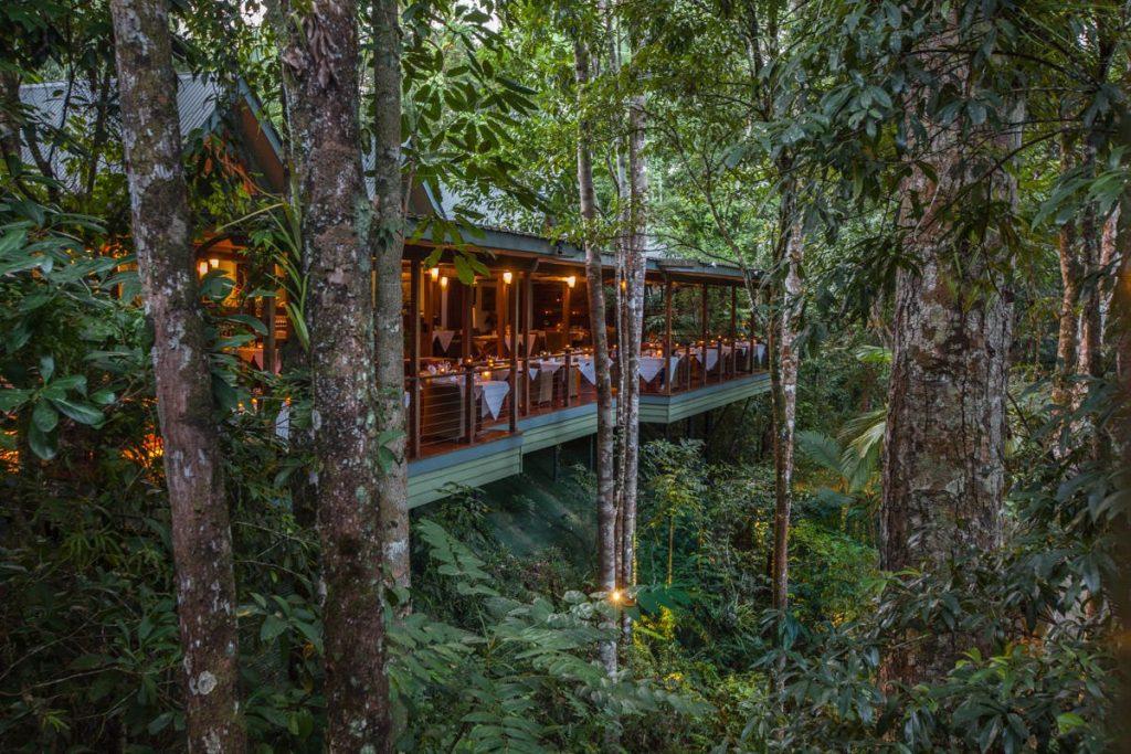 Silky Oaks Treehouse Restaurant