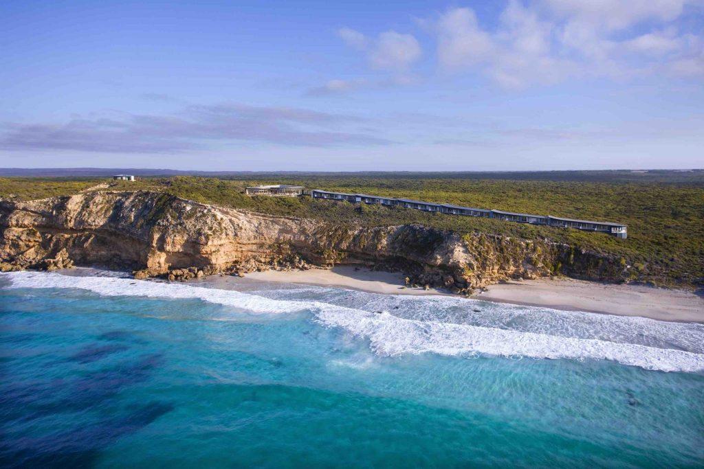 Southern Ocean Lodge Aerial